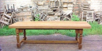 INDIAN TEAK WOOD DINING TABLE
