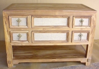 INDIAN TEAK WOOD DRAWER CHEST