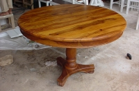 INDIAN SHEESHAM WOOD DINING TABLE