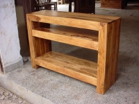 SHEESHAM WOOD CONSOLE TABLE