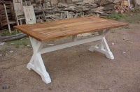 INDIAN MANGO WOOD DINING TABLE